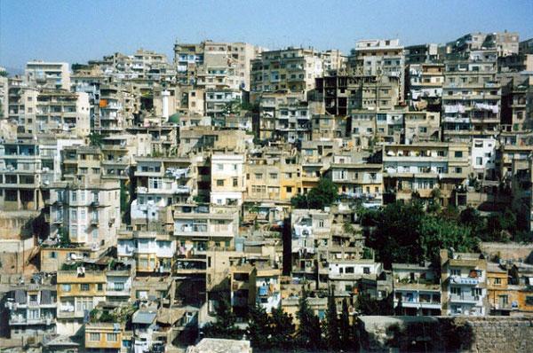 Vue sur Tripoli depuis la Citadelle Saint-Gilles, Liban