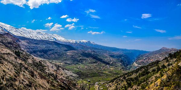 Vallée de la Kadisha, Liban