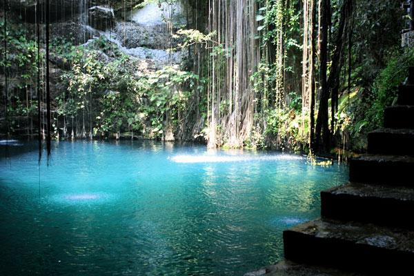 Cenote, Yucatán, Mexique