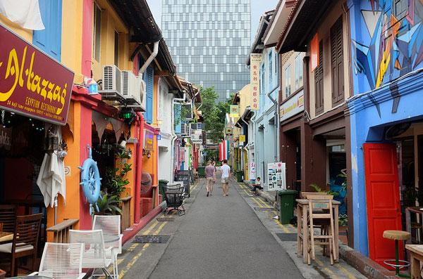 3 jours à Singapour, que faire : Haji Lane