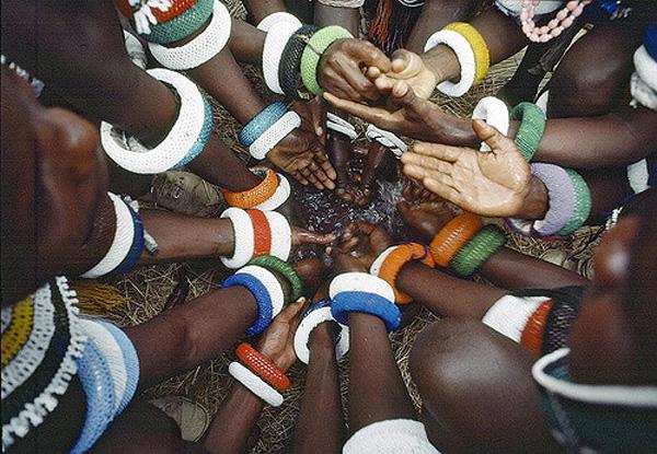 Tribu Ndébélé d'Afrique du Sud