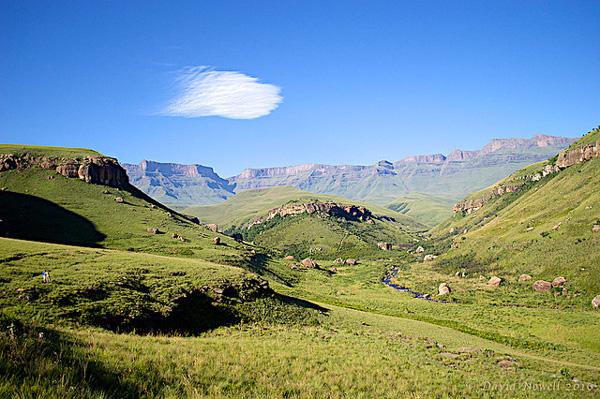 Le Giant's Castle Game Reserve, au coeur du Drakensberg