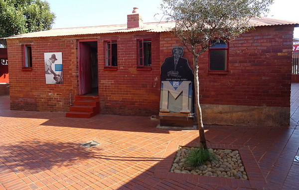 La maison de Nelson Mandela à Soweto