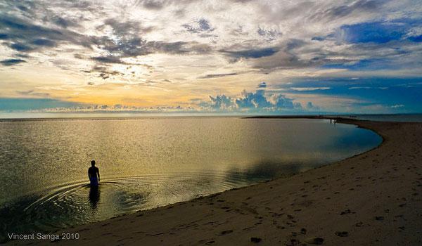 Coucher du soleil à Camiguin, Philippines