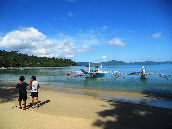 Plage de Port Barton, Philippines