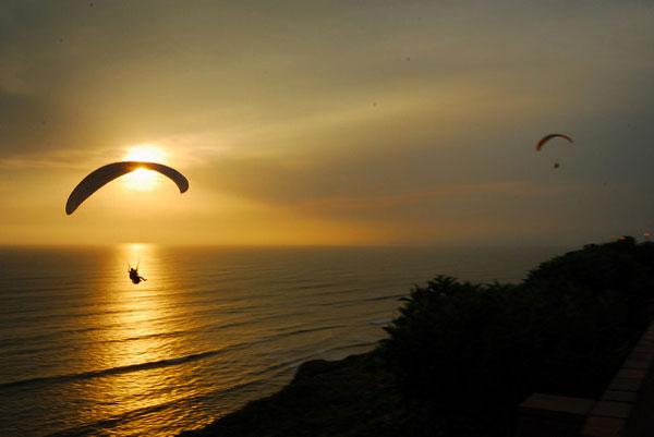 À faire au Pérou : voir Lima d'en haut