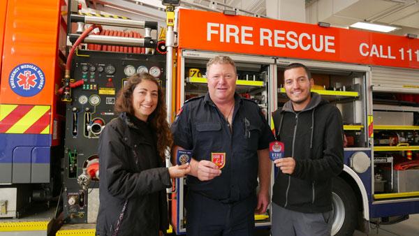 Le tour du monde des casernes de pompiers d'Anne et Yoni : en Nouvelle-Zélande