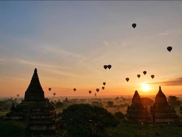 """Des bouts du monde"" - Bagan, Birmanie"