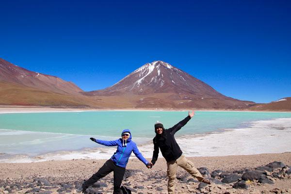Interview voyageurs : Le voyage de noces autour du monde d'Elodie et Thomas ! Ici, en Bolivie