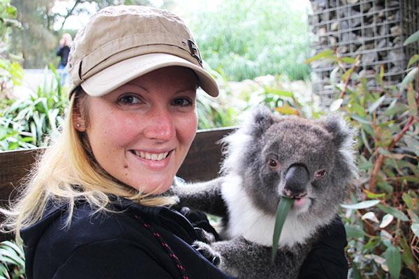 Interview voyageurs : Le voyage de noces autour du monde d'Elodie et Thomas ! Ici, Elodie en Australie