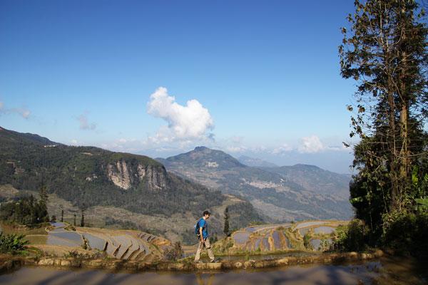 Interview voyageurs : Le voyage de noces autour du monde d'Elodie et Thomas ! Ici, Thomas en Chine