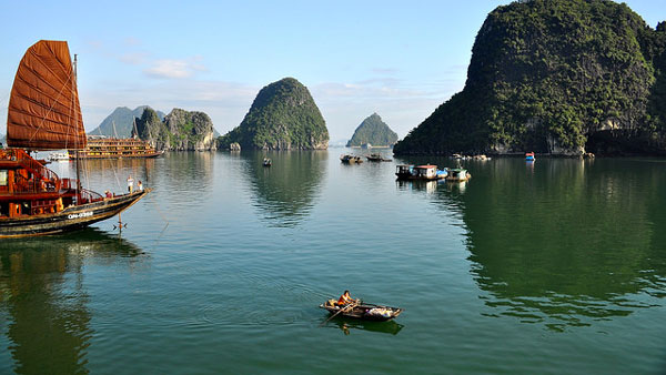 La Baie d'Ha Long, Vietnam