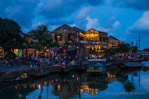 Hoi An de nuit, Vietnam