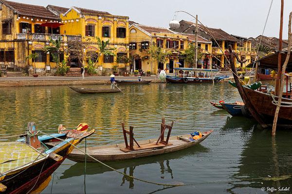 La jolie ville d'Hoi An, Vietnam