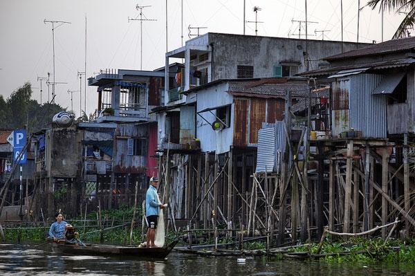 La vie sur le Delta du Mékong, Vietnam