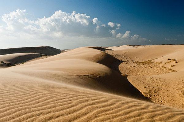 Les dunes de Mui Né, Vietnam