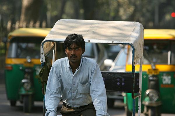 3 jours à New Delhi : Les rickshaws