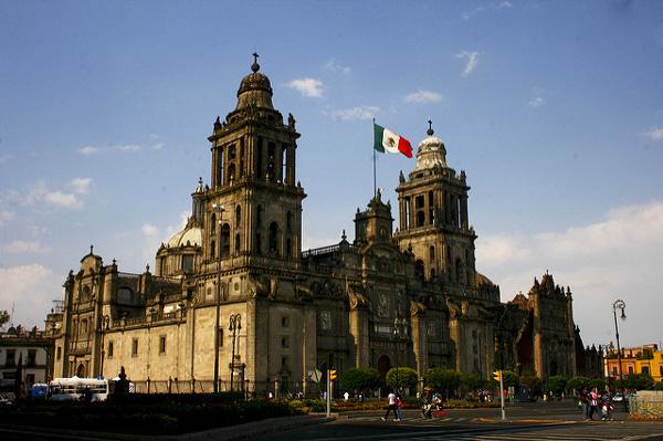 3 jours à Mexico : voir la Cathédrale
