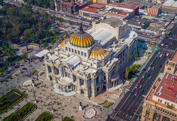 3 jours à Mexico : se sentir tout petit au Palacio de Bellas Artes