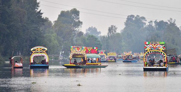 3 jours à Mexico : naviguer sur les canaux de Xochimilco