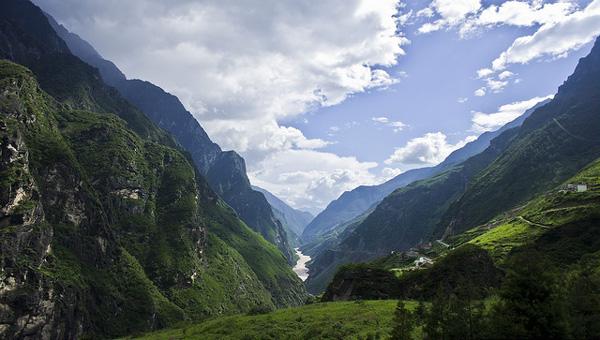 Les Gorges du Saut du Tigre, Yunnan, Chine