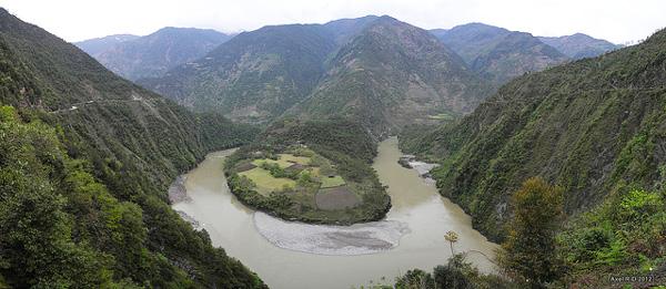 La Vallée de Nujiang, Yunnan, Chine