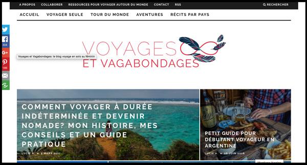 Voyages et vagabondages